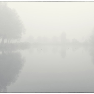 Morning mist, Noorderneg, Heiloo