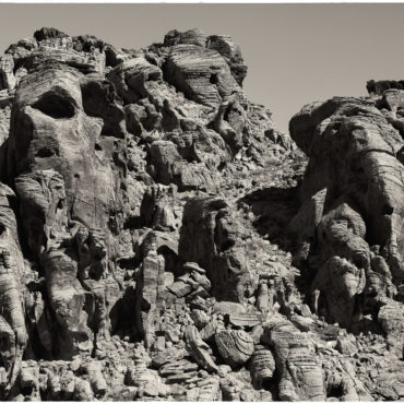 Rock Faces, Valley of Fire, Nevada